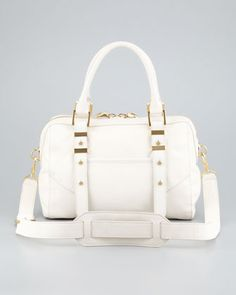 You're one brunching babe in this Rachel Zoe Lee Medium Satchel Bag! A bag this good deserves a second mimosa!