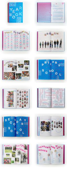 Yearbook for Berlin Bilingual School 2014/15. Designed and illustrated together with Lee Chapdaniel at Studio Hausherr.