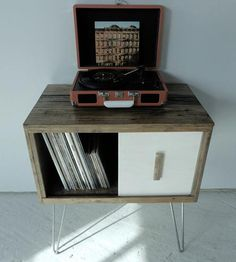 Reclaimed Barn Wood Record Cabinet by Modern Arks available at Withal now. The place to get inspired goods by local makers. Decor, Wood Storage, Furniture, Wood, Barnwood Furniture, Record Cabinet, Reclaimed Wood, Reclaimed Barn Wood, Wood Furniture