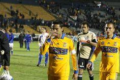 Juninho al finalizar el encuentro de preparación Vs Cruz Azul. 29 dic 2012.