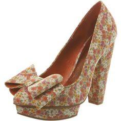Floral Platform Shoe