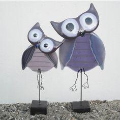 Sjove fugle i glas - Figurer i glas & ler i Horsens