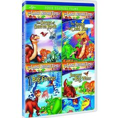 The Land Before Time VI-IX (4-Movie Family Fun Pack) (Full Frame)