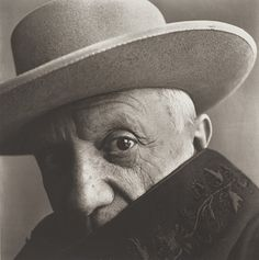Photograph by Irving Penn ~ Picasso at La Californie ~ Cannes ~ France ~ 1957