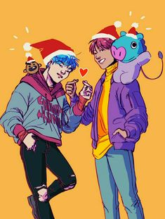 Suga and J-Hope ❤️ #BtsFanart