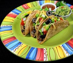Ground Beef and Black Bean Tacos