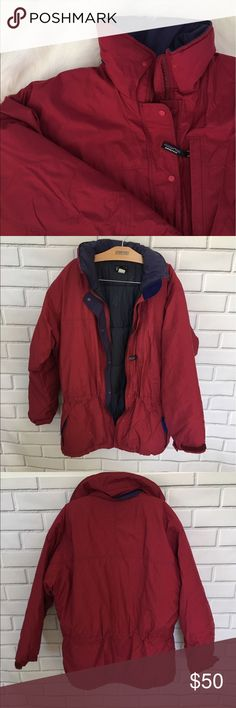 Patagonia Winter Coat Patagonia Winter Coat  Hood is missing.  Size Women's Small  Good condition - some minor stains. Patagonia Jackets & Coats