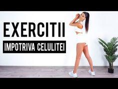 PILATES/ EXERCITII IMPOTRIVA CELULITEI/ ANTRENAMENT ACASA [HD] - YouTube Pilates, Youtube, Medicine, Pop Pilates, Youtubers, Youtube Movies