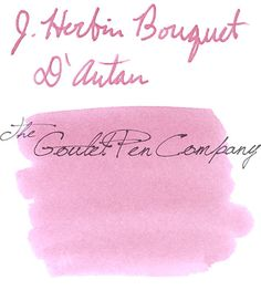 J. Herbin Bouquet D'antan [Sample]