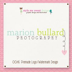 Graphic Design - OOAK Premade Logo Design