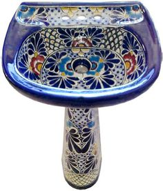 Mexican Pedestal Sink   This Website Is Awesome!