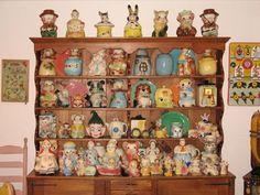 Vintage Cookie Jar Collection