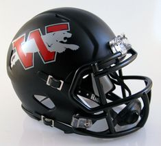 Westmoore (OK) High School Mini Football Helmet by T-Mac Sports
