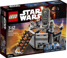 https://flic.kr/p/B5ijsc | LEGO Star Wars 75137 - Carbon-Freezing Chamber | Release: 2016  More information and pics up: THE BRICK TIME  Be sure to visit the BrickLink-Shop: THE BRICK TIME - Store