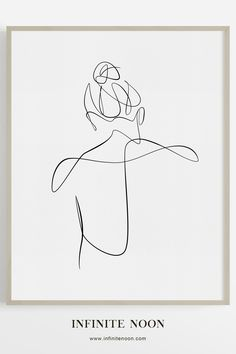Minimalist line art drawing print, simple and elegant woman's back illustration, great for modern and contemporary home interiors. Abstract one line figure feminine art. - Minimalist line art drawing print, simple and elegant woman's back illustration,. Minimalist Drawing, Minimalist Art, Elegant Woman, Art Du Croquis, Woman Back, Abstract Lines, Abstract Line Art, Dark Fantasy Art, Art Drawings Sketches