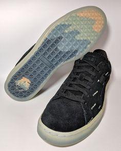 9019675013f Puma Suede V2 PUMA X PINK DOLPHIN Black Blue Caramel Tan 365031-01 Mens Sz