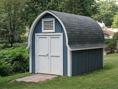 Gothic Dairy Barn Style Shed