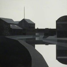 Canal at Longport - Maurice Wade - Beecroft Art Gallery