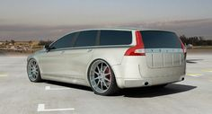 Very clean wagon concept by Caresto.