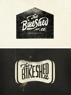 The Bike Shed Logotype    Alex Ramon Mas Design