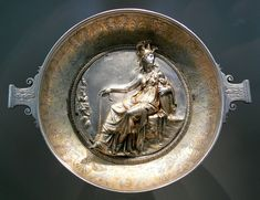 Athena bowl from the Hildesheim Silver Treasure; 1st century BC