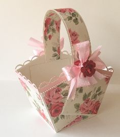 Buy Floral basket Small - 6 pack
