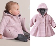 Cheap girl toddler winter coats, Buy Quality winter baby girl coat directly from China warm winter clothes Suppliers: Baby Girl Toddler Warm Fleece Winter Pea Coat Snow Jacket Suit Clothes Pink Red Hot Sale Toddler Girl Fall, Baby Girl Winter, Toddler Dress, Cute Baby Girl, Baby Girls, Baby Baby, Girly Girl, Fashion Kids, Toddler Fashion