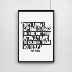 Posters poster art print andy warhol quote art by AngelaFerrara  Truer than true.