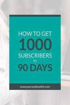 A step by step breakdown of how to go from zero to 1000 subscribers  Affiliate Marketing 85cb3df748