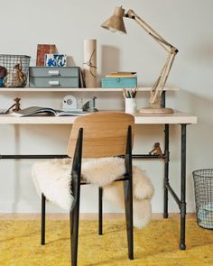 Industrial-chic Desk