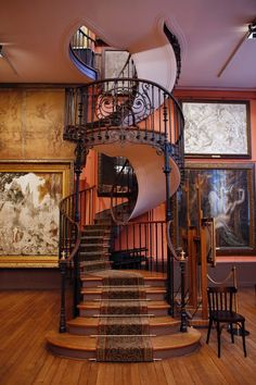 When i buy my own house I WILL have a spiral staircase. If the house I buy doesn't have one, then I will have it built.