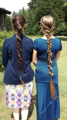 double dutch by Anikazul, via Flickr // those braids are awesome.