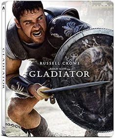 Free Kittens Movie Guide: GLADIATOR (4K SteelBook): Why, Yes, We Are Enterta... Gladiator Cast, Gladiator 2000, Gladiator Movie, Gladiator Maximus, Gladiator Helmet, Gladiator Sandals, We Movie, About Time Movie, Movies