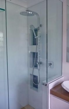 Shower Head Design Ideas - Photos of Shower Heads. Browse Photos from Australian Designers & Trade Professionals, Create an Inspiration Board to save your favourite images. Shower Niche, Modern House Plans, Bathroom Renos, Bathroom, Pantry Design, Small Bathroom, Storage, Bathroom Design, Australian Design