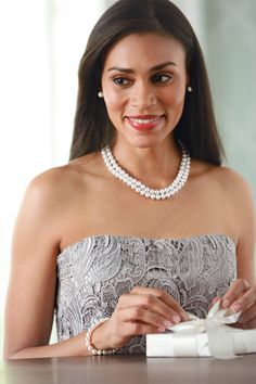 TIMELESS Wedding Style: Belk & Co Timeless and Elegant Pearl Necklace Selection #belk #fine jewelry