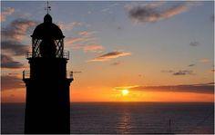 GEOGRAFÍA: FAROS DE LA COSTA GALLEGA: LAS RÍAS BAJAS Faro de Cabo Silleiro.
