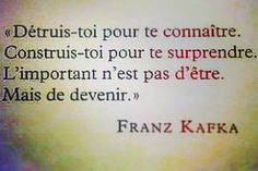 Franz Kafka, souvenir de mes cours de philo...                                                                                                                                                                                 Plus
