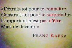 Franz Kafka, souvenir de mes cours de philo...