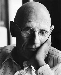 "Michel Foucault 1926-1984 was a french philosopher, social theorist, historian of ideas, and a literary critic. he lectured at both School De France, and UC Berkley here in CA. His theories addressed what power is and how it works, ""Manner in which it controls knowledge and vice versa""."