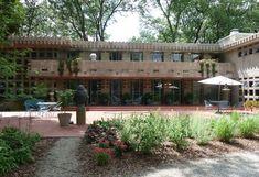 Turkel House Detroit MI   Frank Lloyd Wright's Dorothy Turkel House   Detroit, Michigan