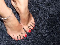 coisa de mulher...entre outras coisas...: Loucos por pés...Parte I