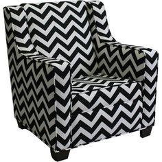 Newco Kids' Baby Retro Chevron Chair, Multiple Colors