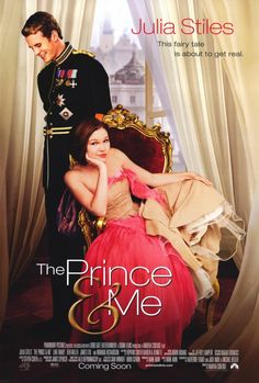 The Prince and Me. This was randomly on CTV today. I decided to watch it and it was surprisingly good. I really liked it :D