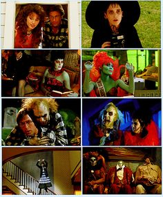 Los directores Terence Fisher y Tim Burton : Beetlejuice Quotes, Beetlejuice Movie, Beetlejuice Halloween, 80s Movies, Great Movies, Horror Movies, Movie Tv, Estilo Tim Burton, Tim Burton Style