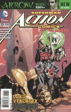Action Comics # 17 DC Comics The New 52! Vol 2