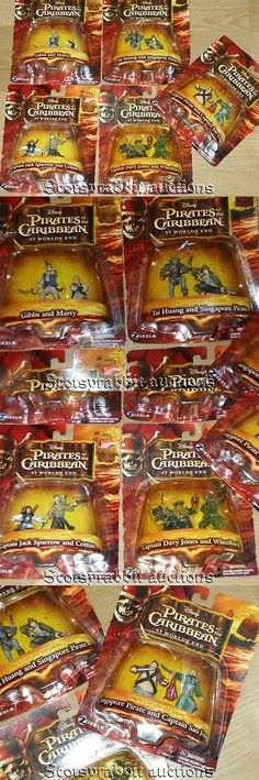 Pirates of the Caribbean 142334: New Sealed Pirates Caribbean World S End 5 Action Figure Sets 10 Characters -> BUY IT NOW ONLY: $49.95 on eBay!