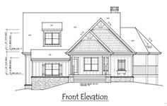 House Plan Front Elevation