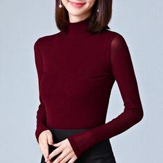 5cea5622a2d68 Womens Tops and Blouses Autumn Lace Blouse Slim Blusa Feminina Fashion –  rricdress