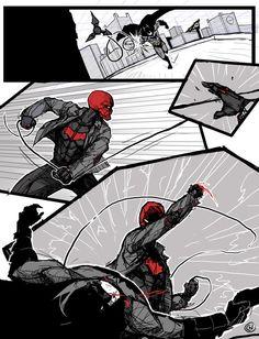 Red Hood sample page 1 by kjlbs