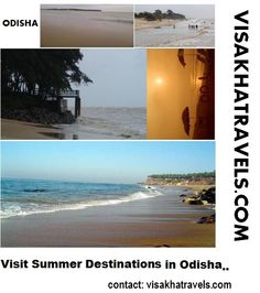 Best Summer Destinations in Odisha (Orissa)   VISIT: visakhatravels.com